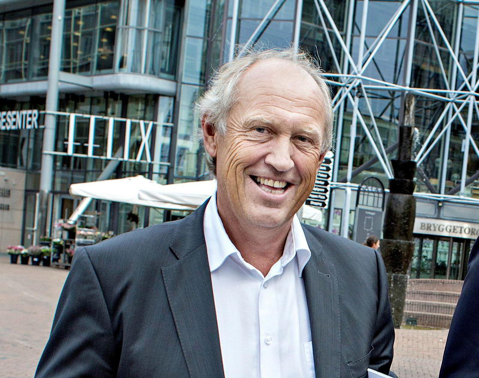 Atle Kigen, informasjonsdirektør i Aker.