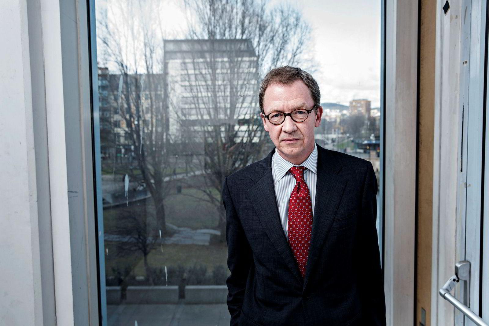 Idar Kreutzer i Finans Norge er i gang med å spørre bankene om endringer i forskriften er nødvendig.