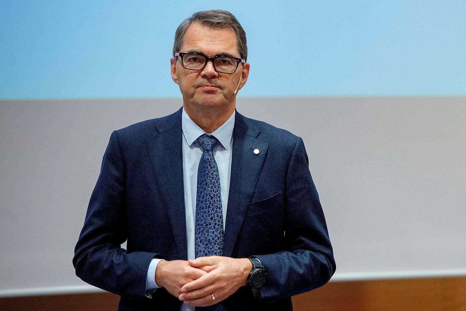 Styreleder i Veidekke, Svein Richard Brandtzæg.