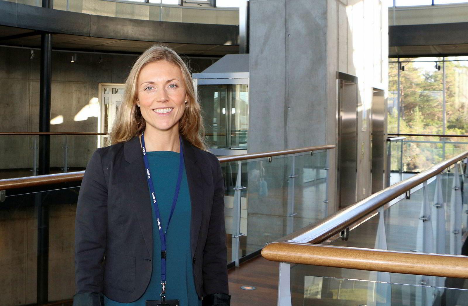 BKKs nye fornybarfond. Monika Inde Zsak leder BKK Spring, et ventureselskap som skal investere i grønne oppstartsselskaper.