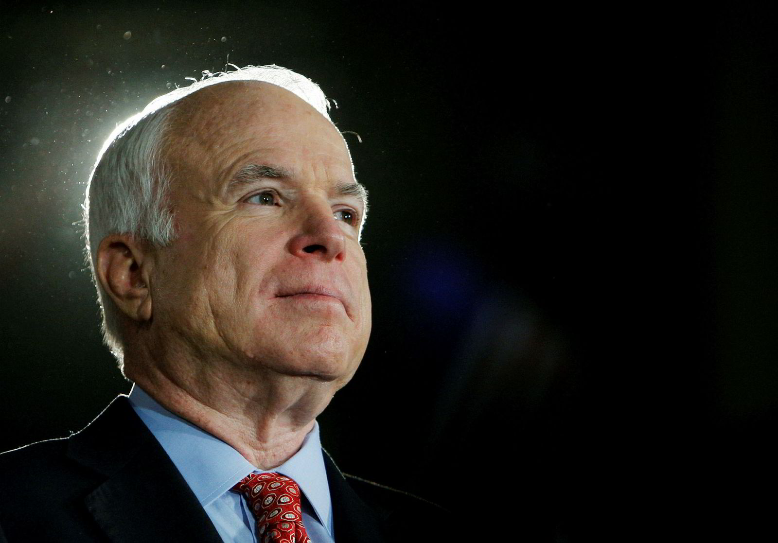 Senator John McCain døde natt til søndag.