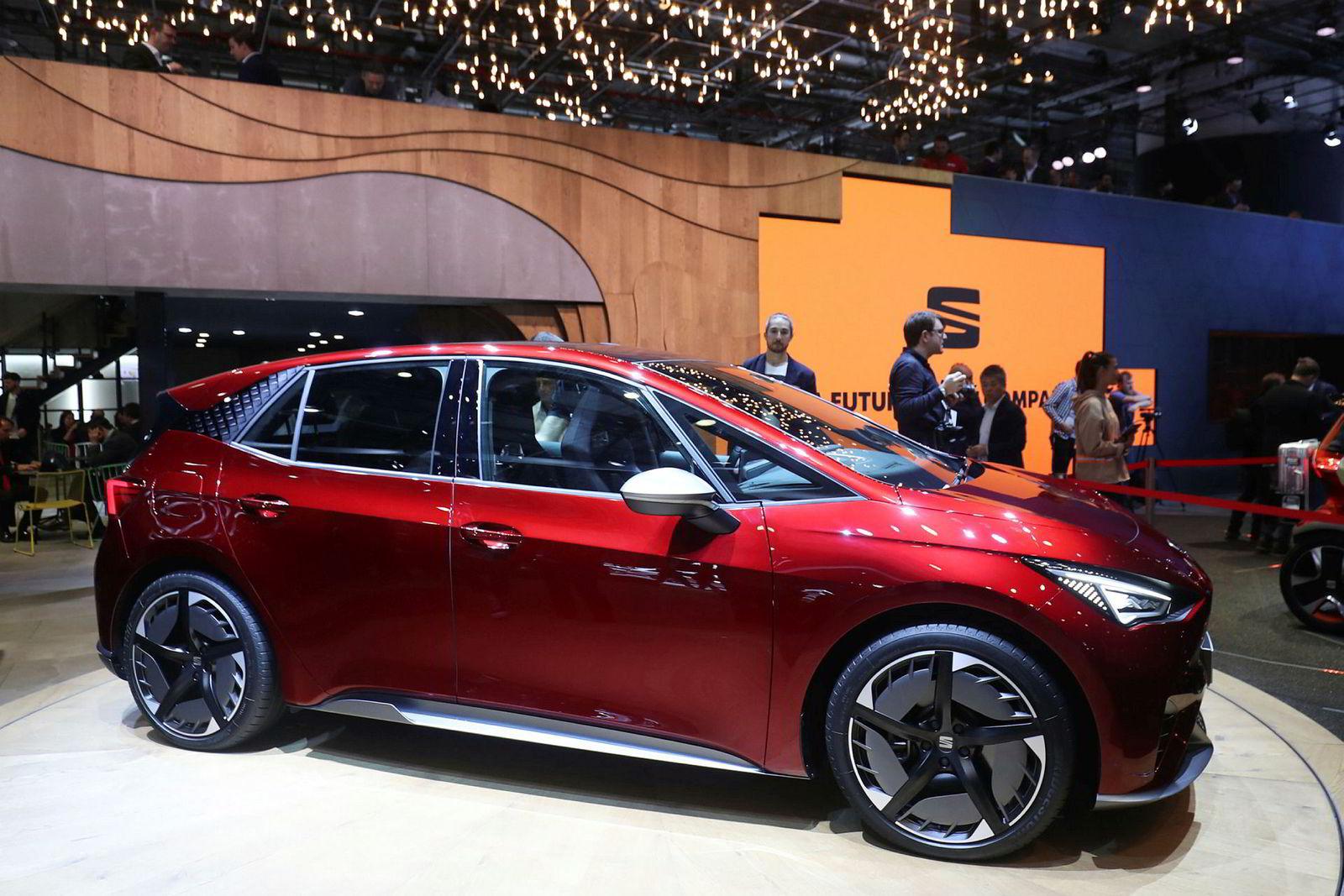 Seat el-Born er enn så lenge kun et konsept, men er første elbil fra merket bygget på Volkswagens MBE-plattform.