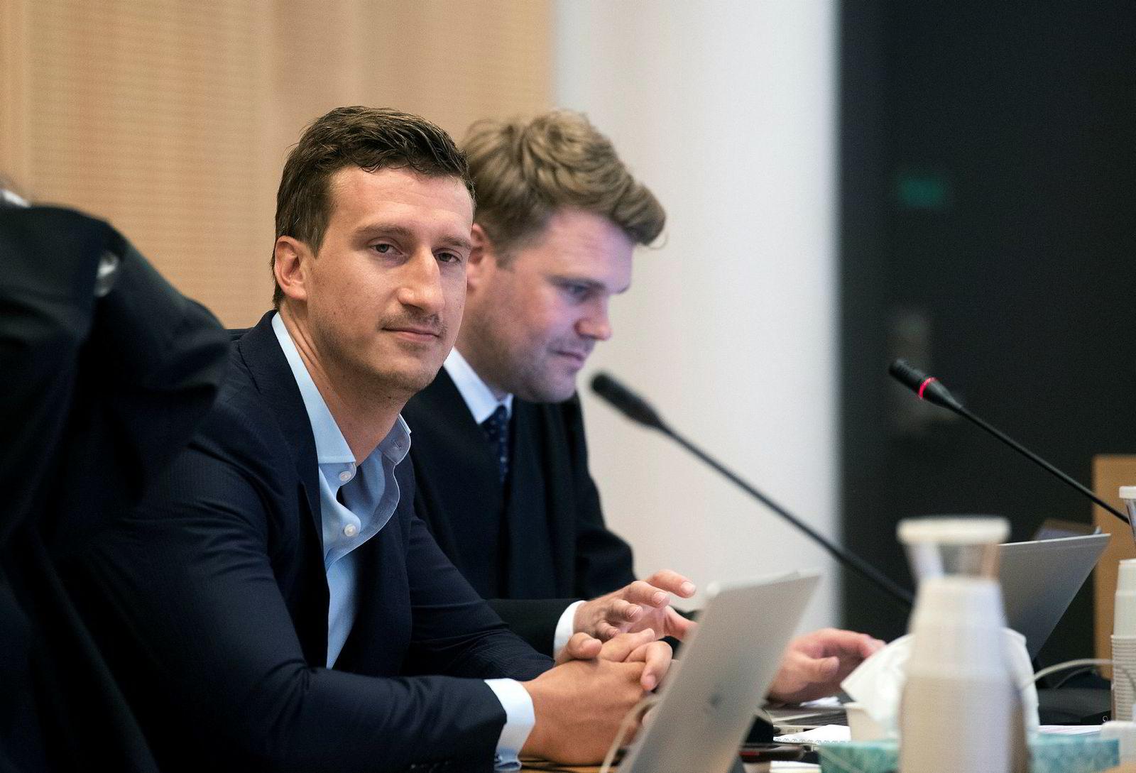 Pierre Vannineuse, her avbildet i forbindelse med en rettssak mellom Alpha Blue Ocean og it-selskapet Induct.