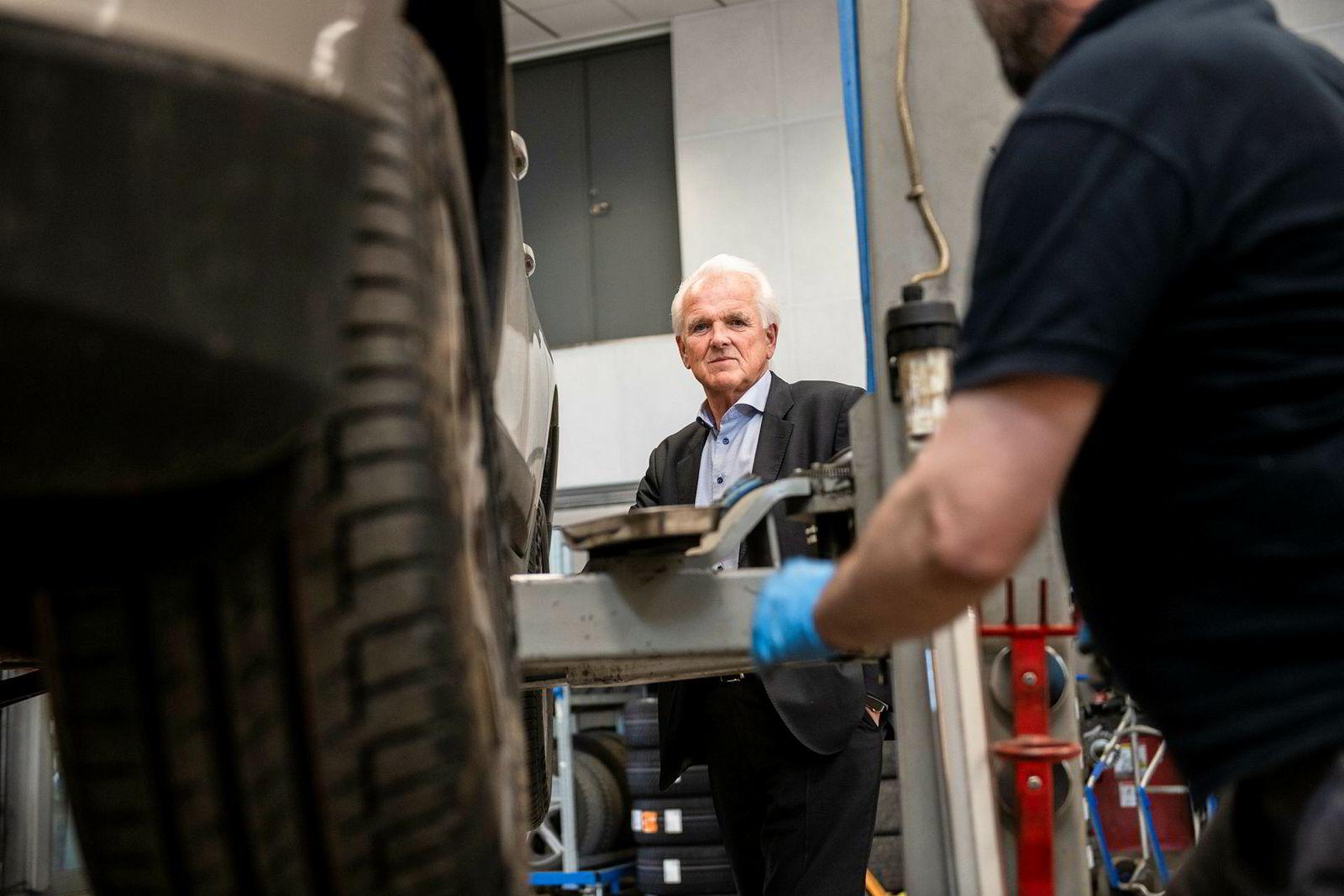 Volvo-sjef Øystein Herland har gjort det bra både hos Norsk Kundebarometer og AutoIndex 2018.