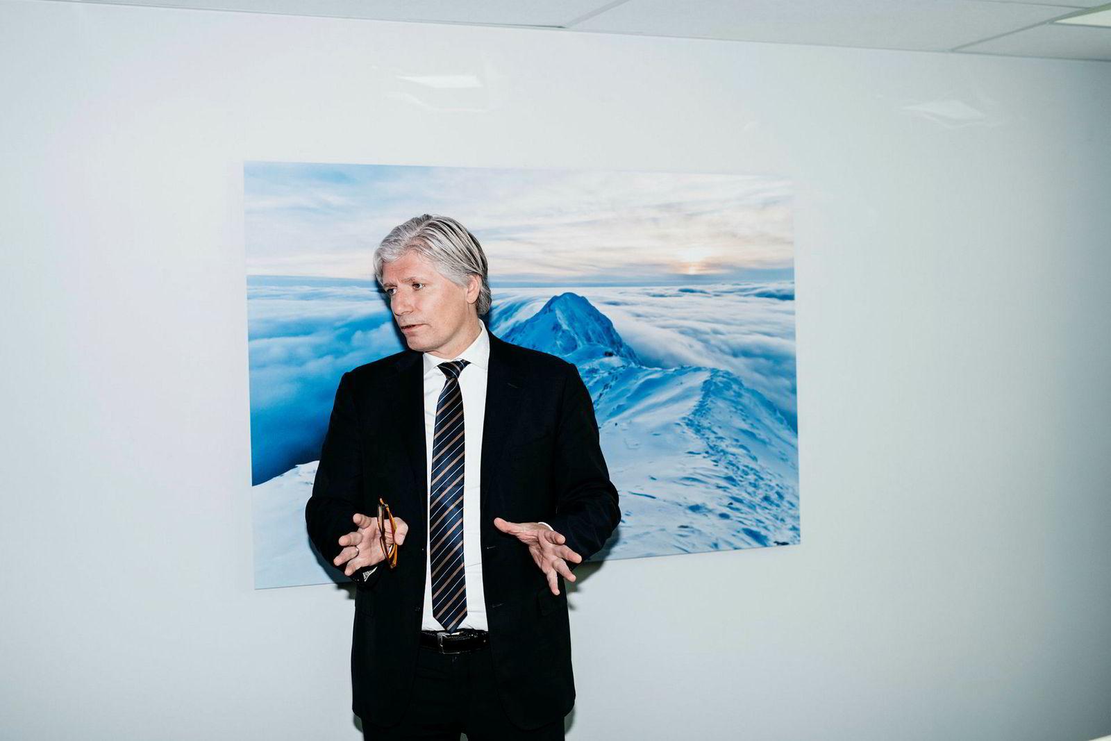 Klima- og miljøminister Ola Elvestuen.