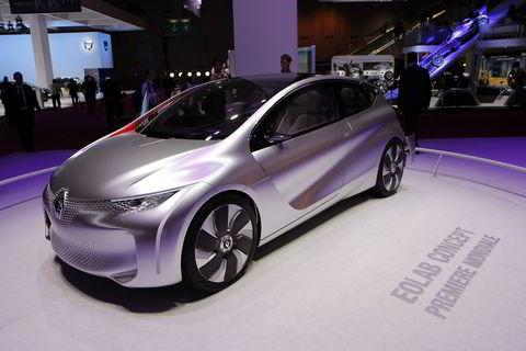 Renault Eolab concept.