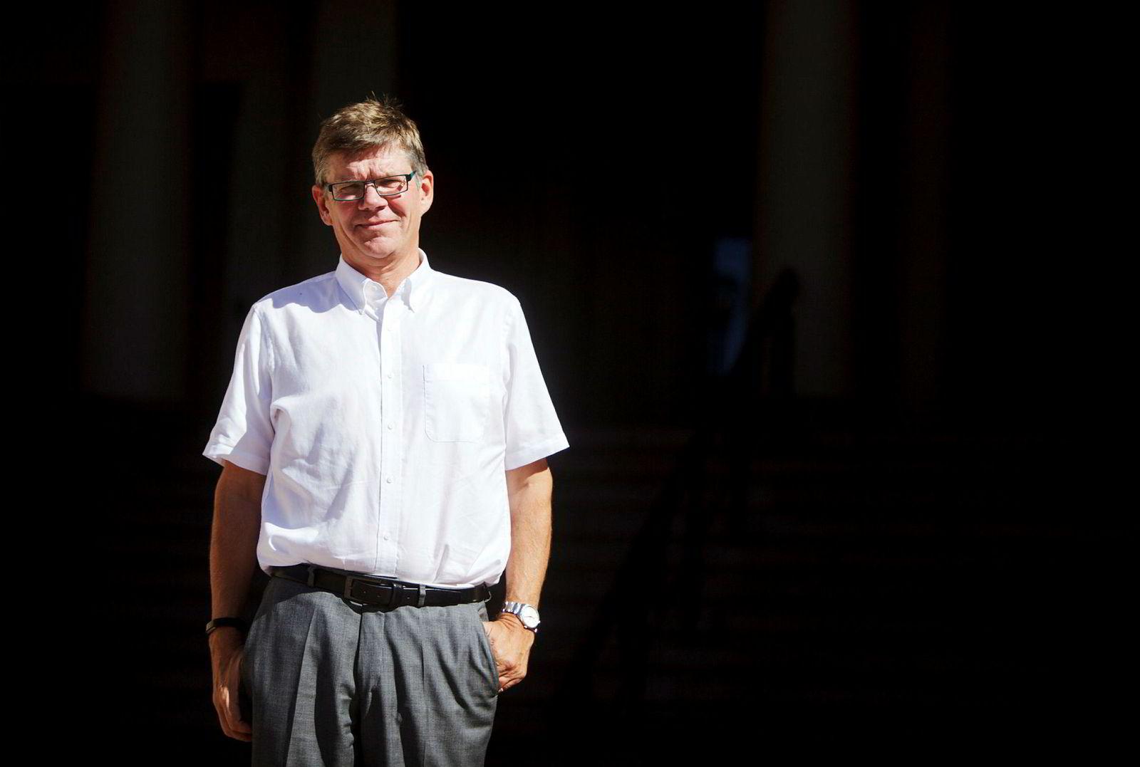 Rektor Svein Stølen ved UiO.