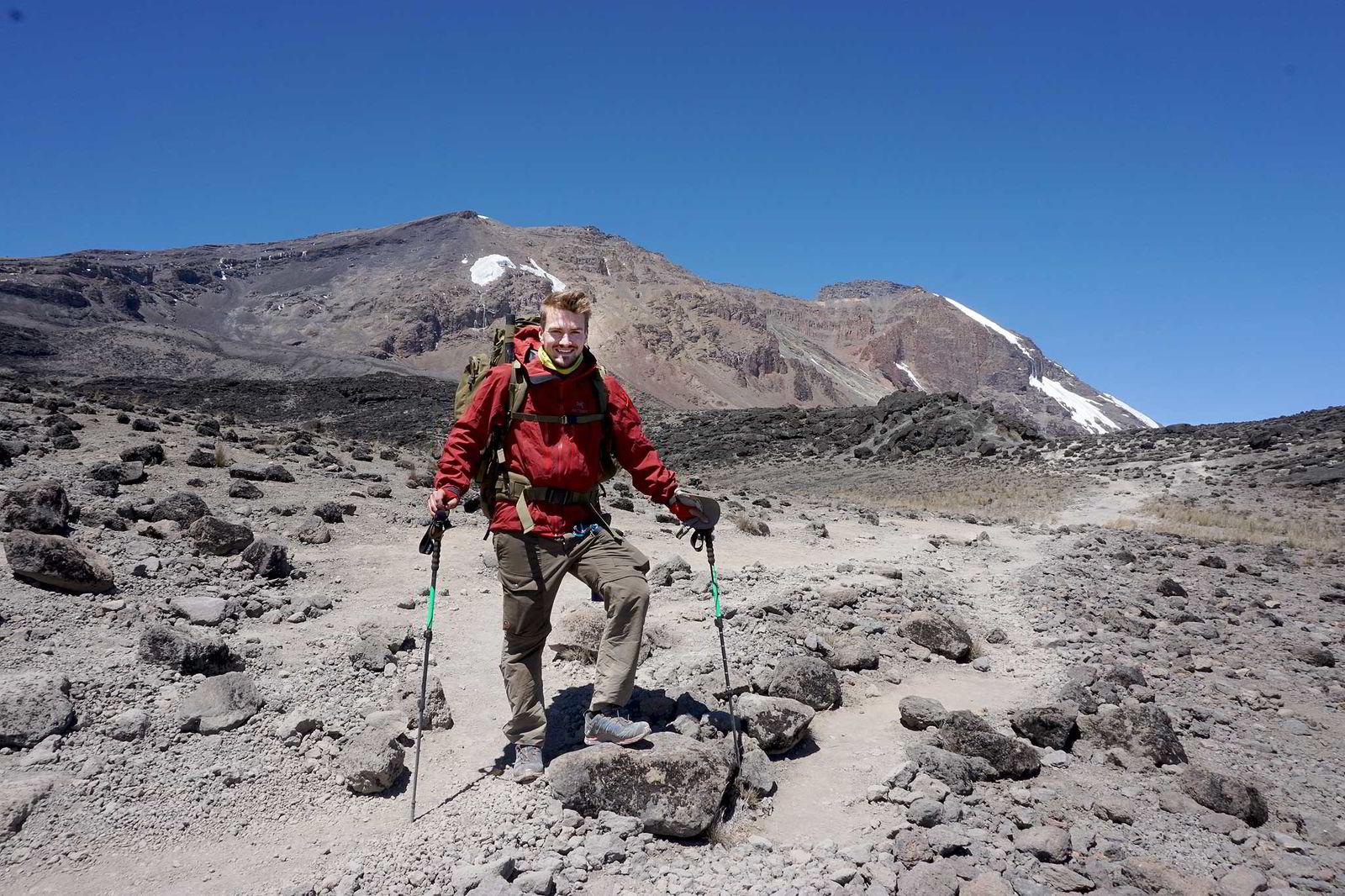 Fra turen opp Kilimanjaro.