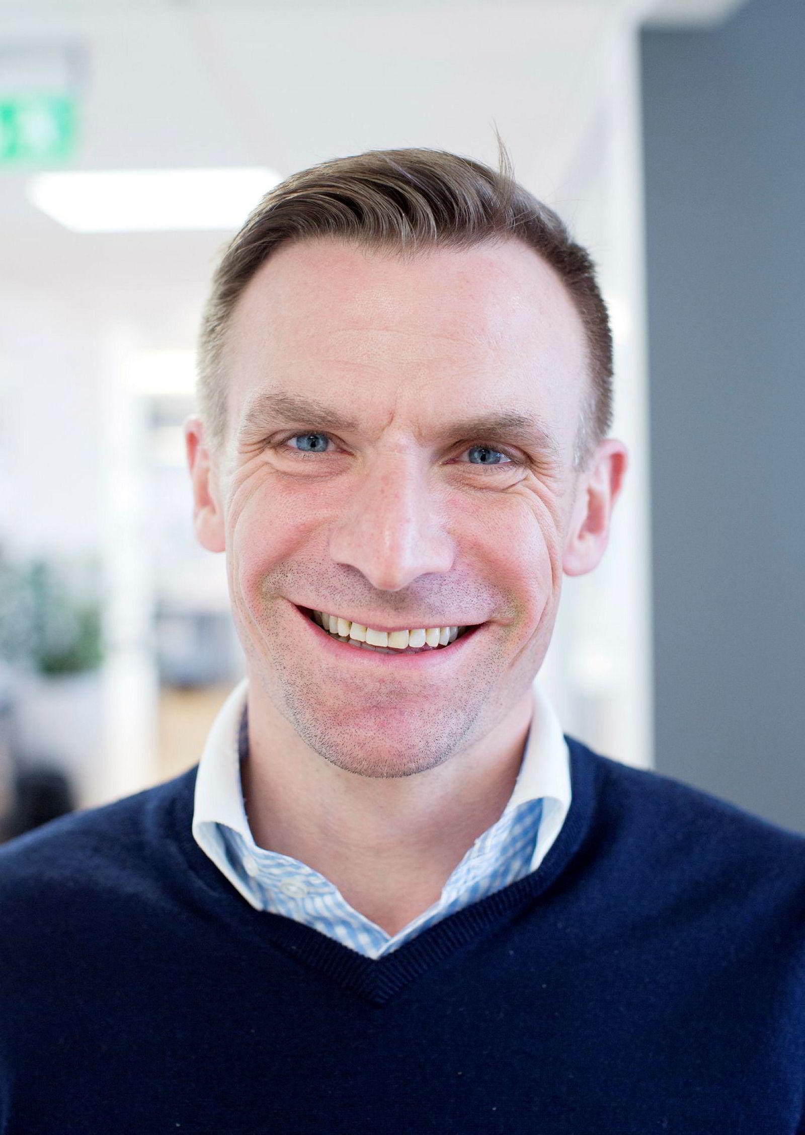 Halvor Vislie fungerer som administrerende direktør i The Future Group. Bildet er fra en tidligere anledning.
