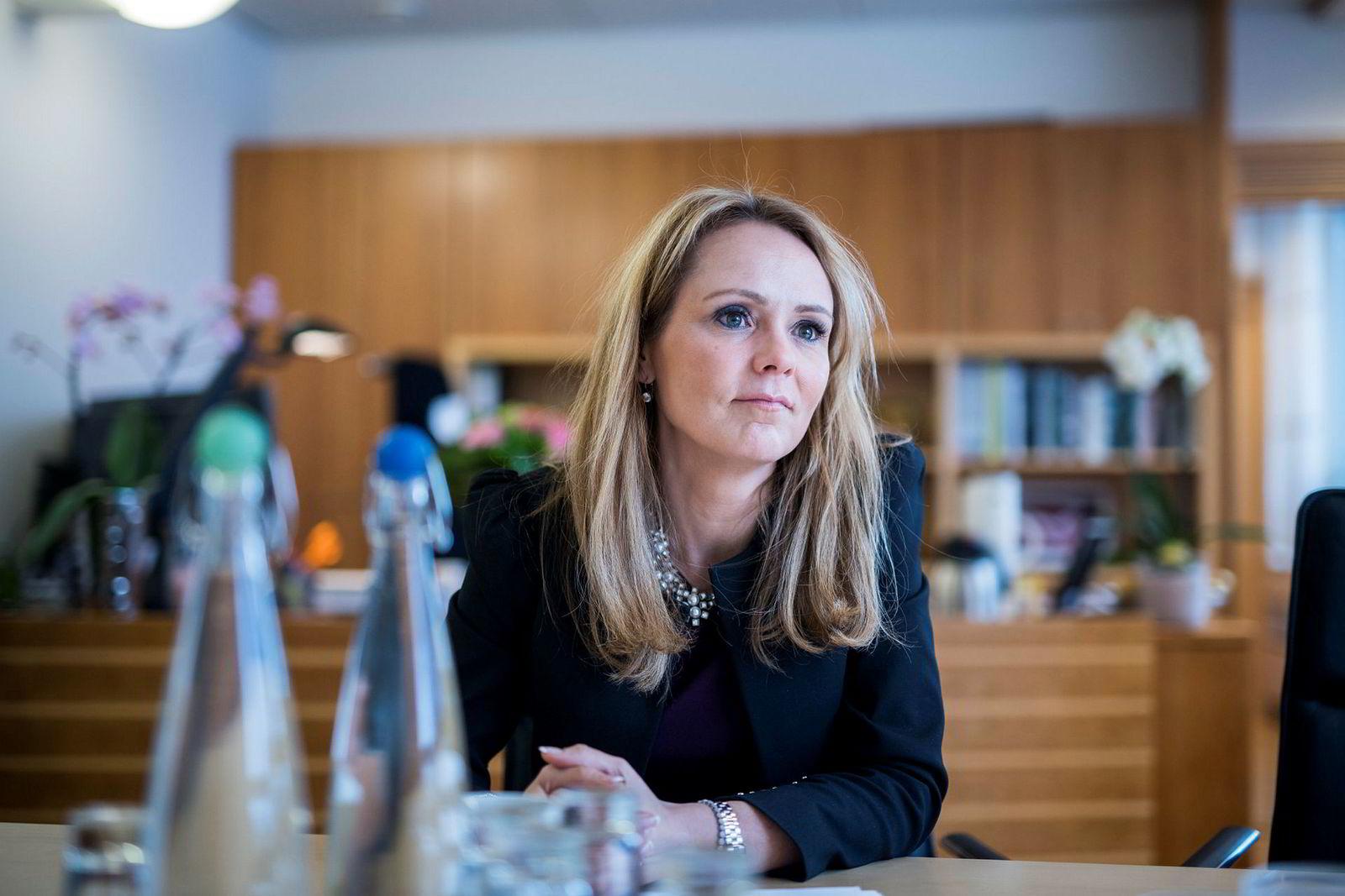 Barne- og likestillingsminister Linda Hofstad Helleland.