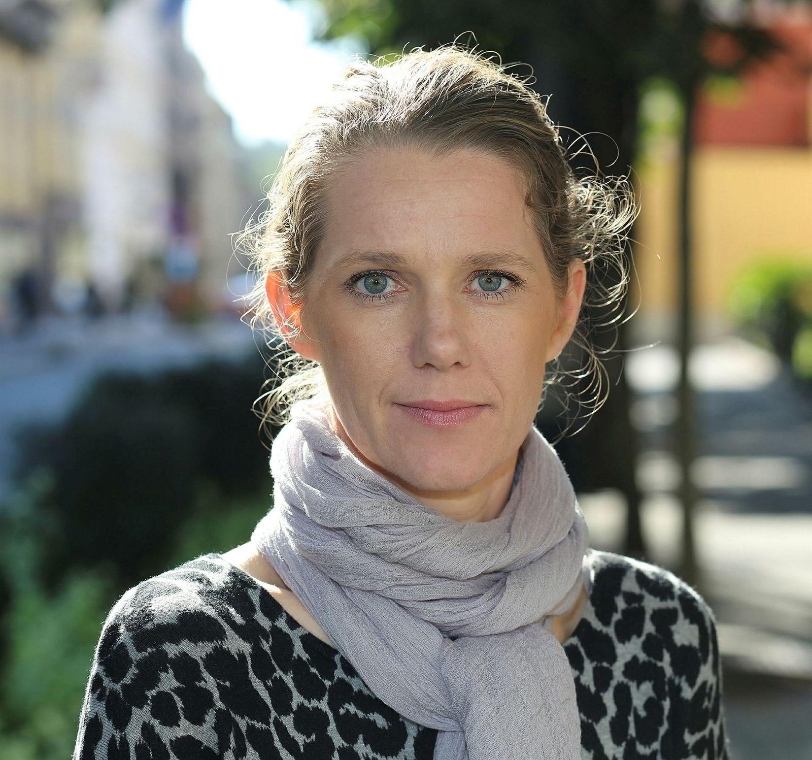 Camilla Ryste, kommunikasjonssjef i Naf.