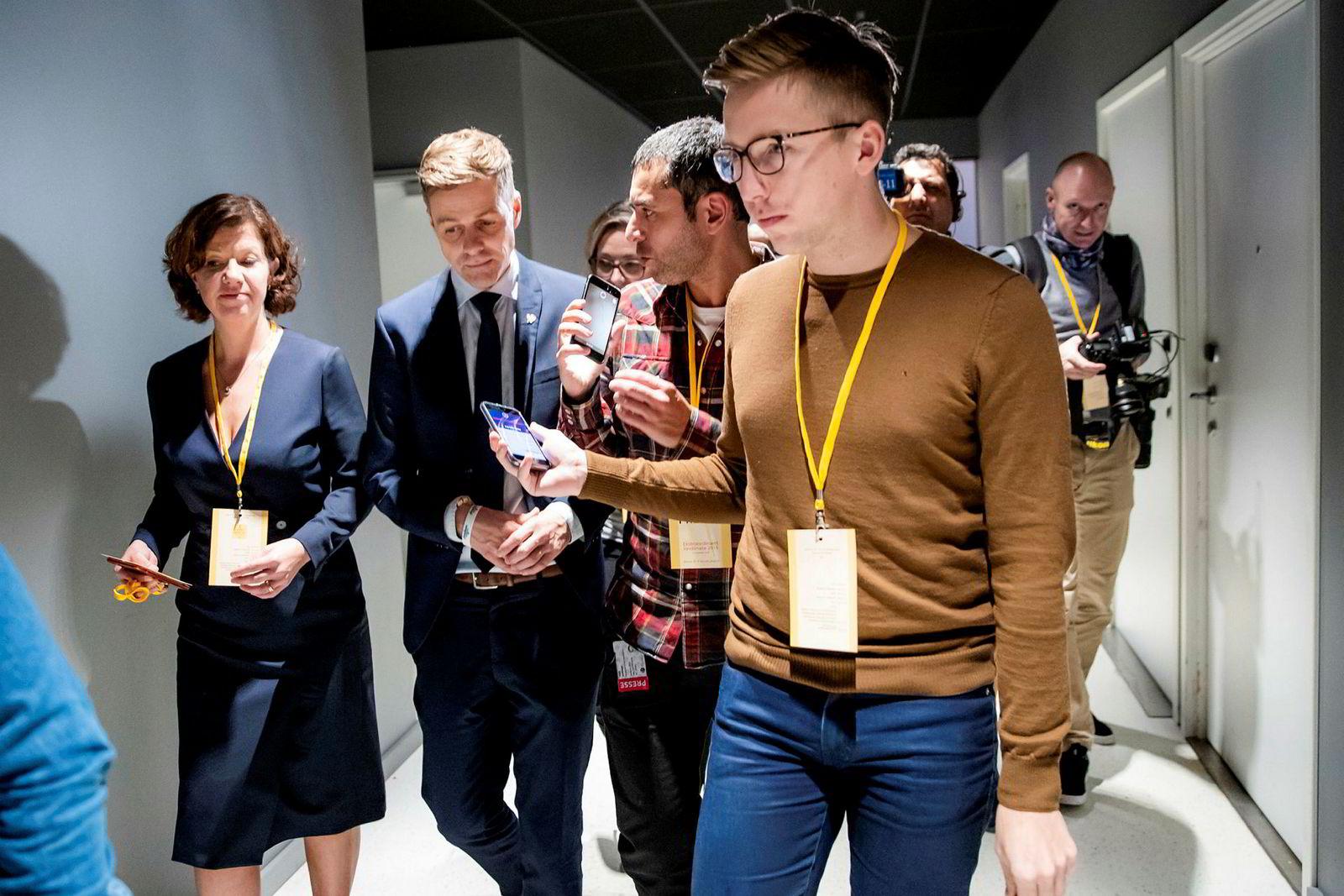 Lars Joakim Skarvøy har vært i permisjon etter dekningen av Bar Vulkan-videoen.