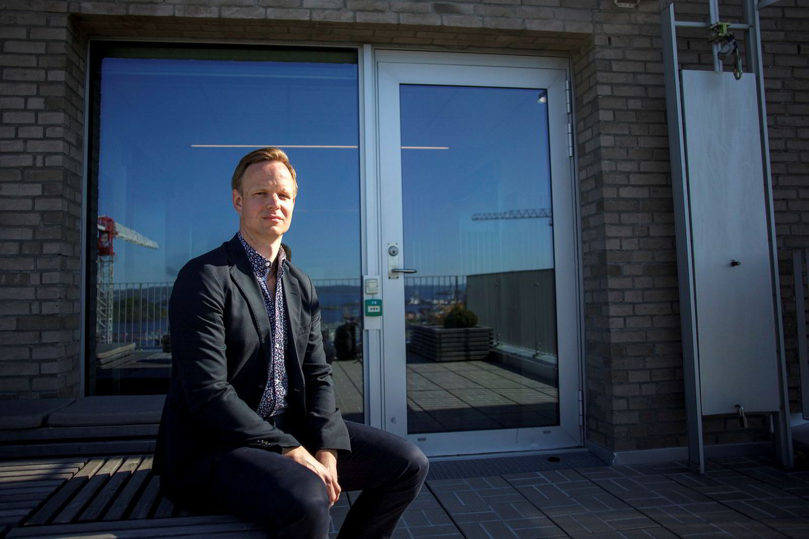 Terje Aleksander Fjeldvær, leder av DNBs Financial Cyber Crime Center (FC3).