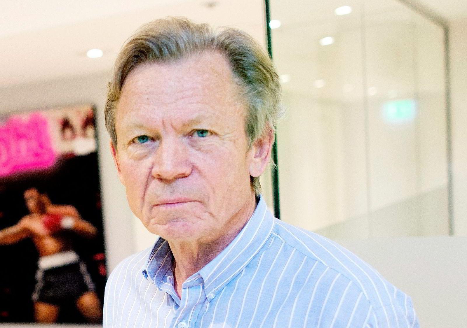 ... tidligere Yara-sjef Thorleif Enger (72) ...  Foto: