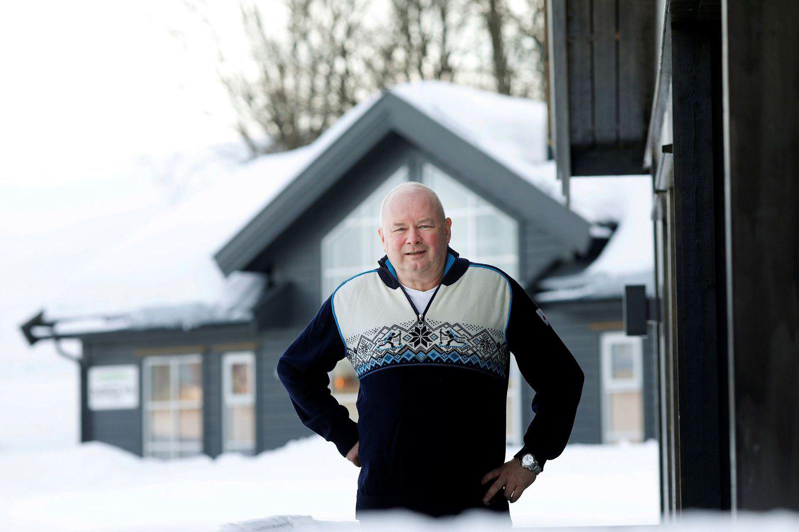 Hyttegründer Torbjørn Kaarud.