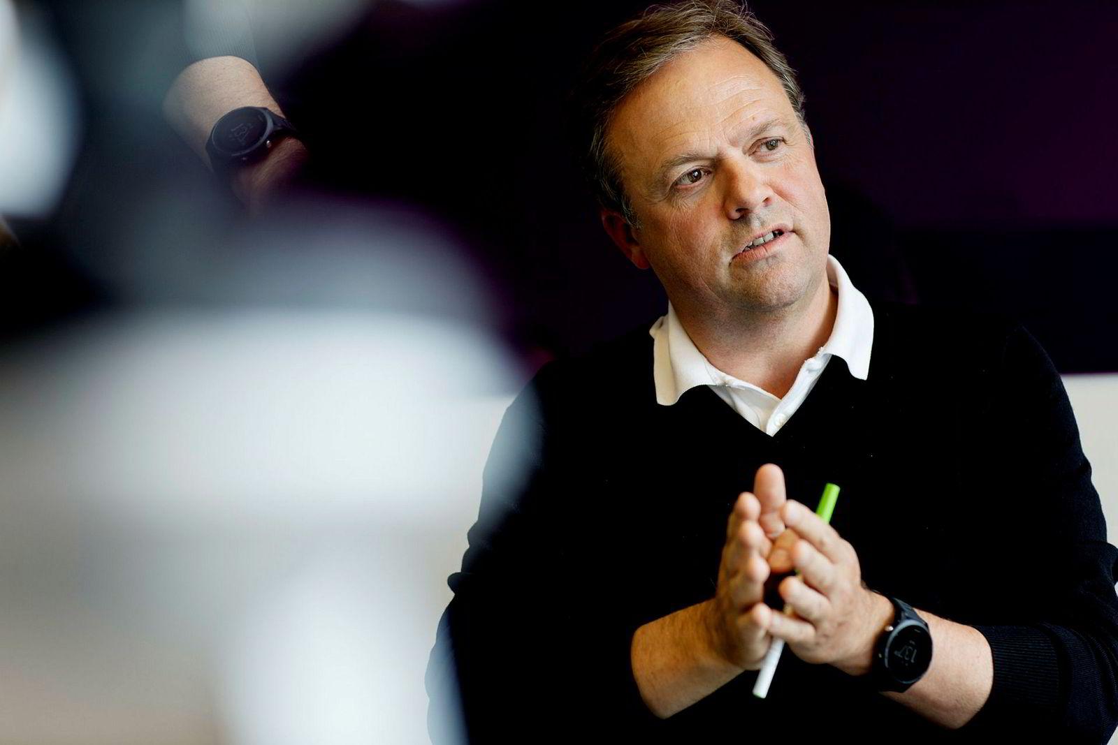 Bjørn Olstad i Microsoft.