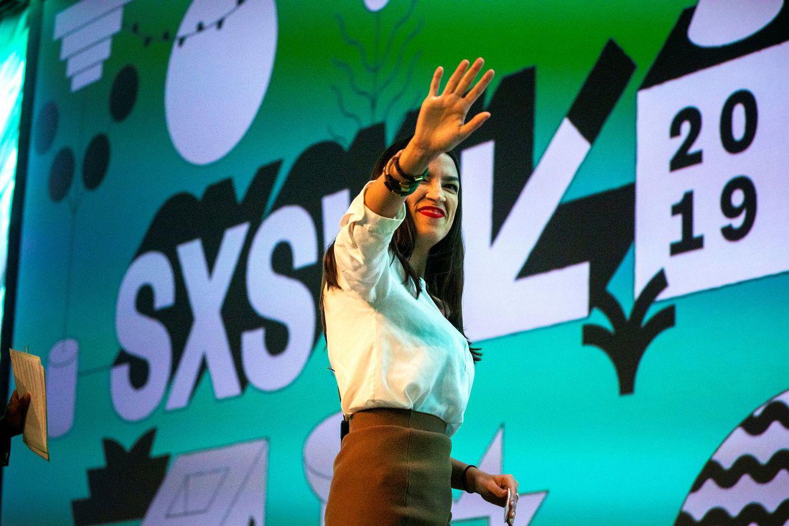 Alexandria Ocasio Cortez – kongressrepresentant fra Bronx i New York – besøkte Austin sist helg.