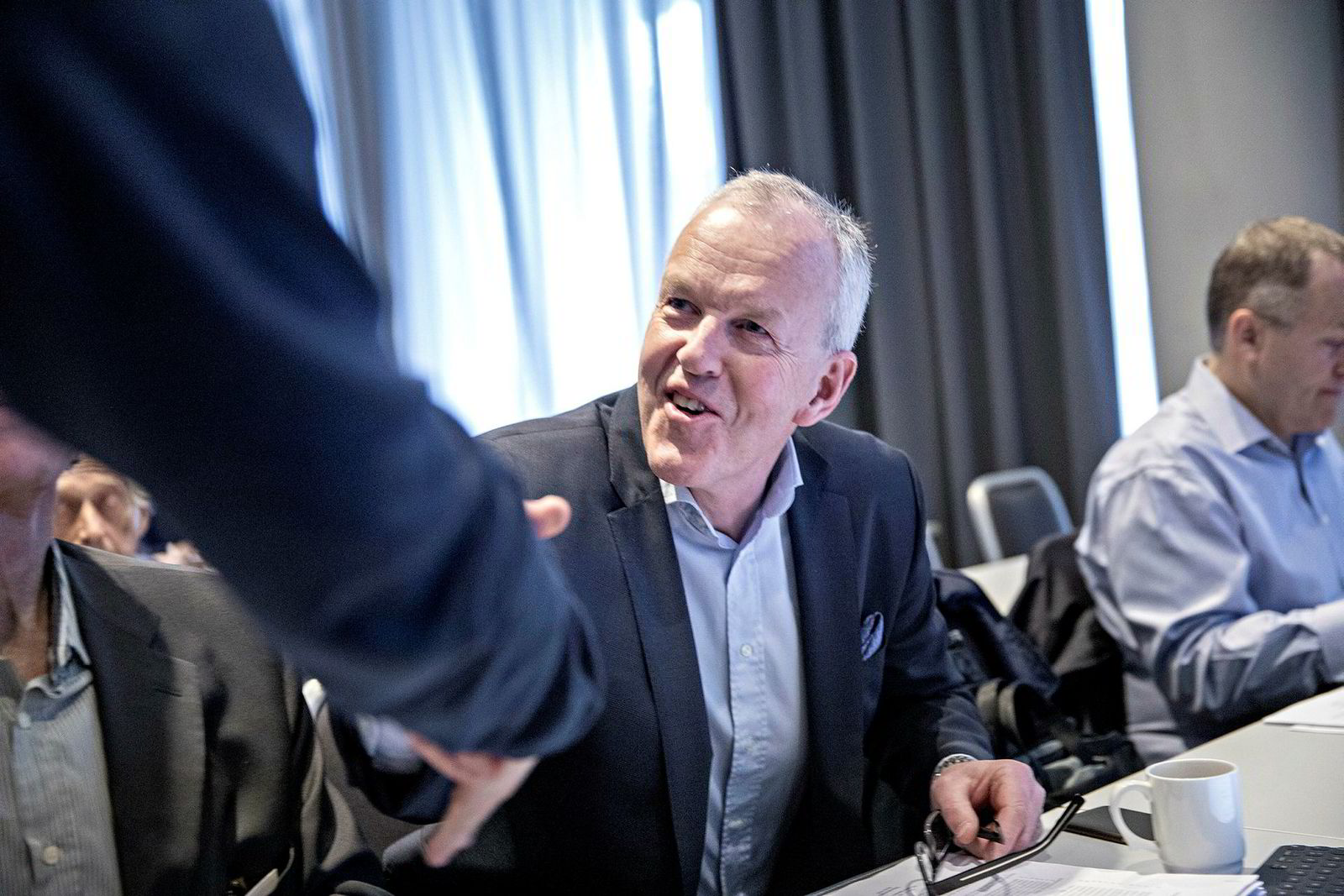 Direktør Ole-Wilhelm Meyer i Opplysningsvesenets fond