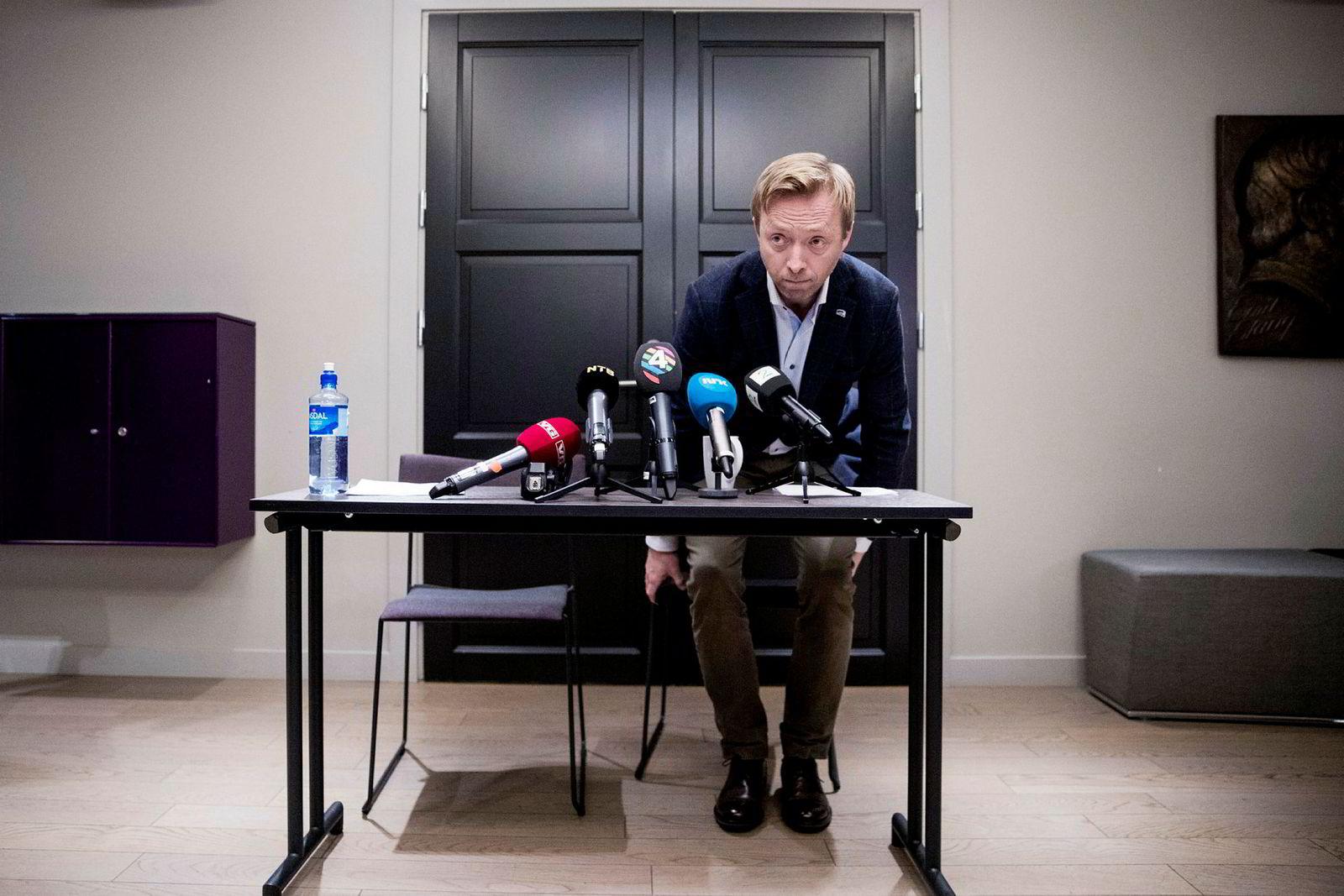 Generalsekretær John-Ragnar Aarset mener Syse kjenner Høyre godt nok til å gi det råd.