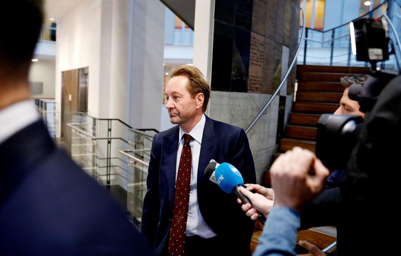 Kjell Inge Røkke forklarte seg tirsdag ettermiddag.