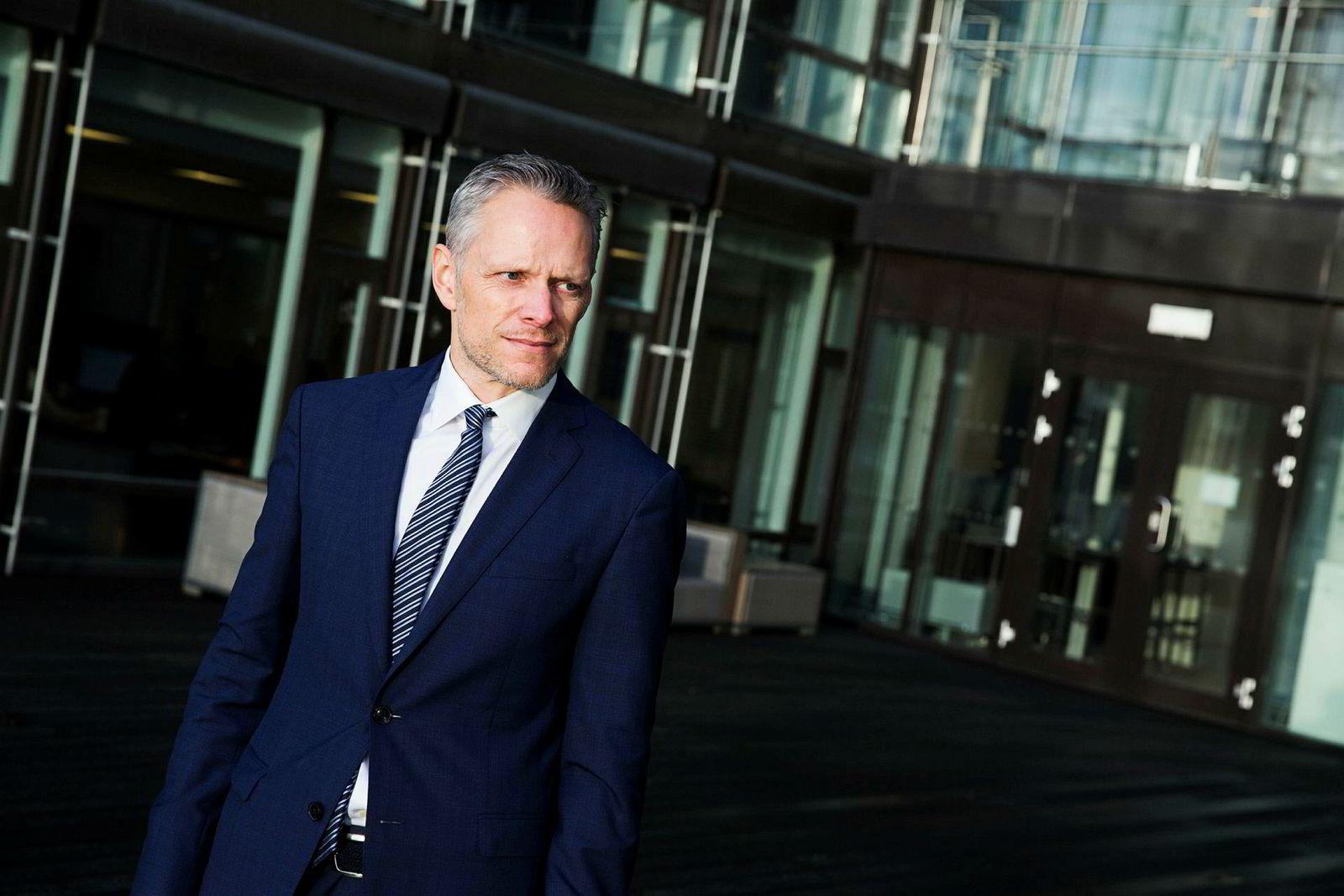 Sjefstrateg Christian Lie i Danske Bank.