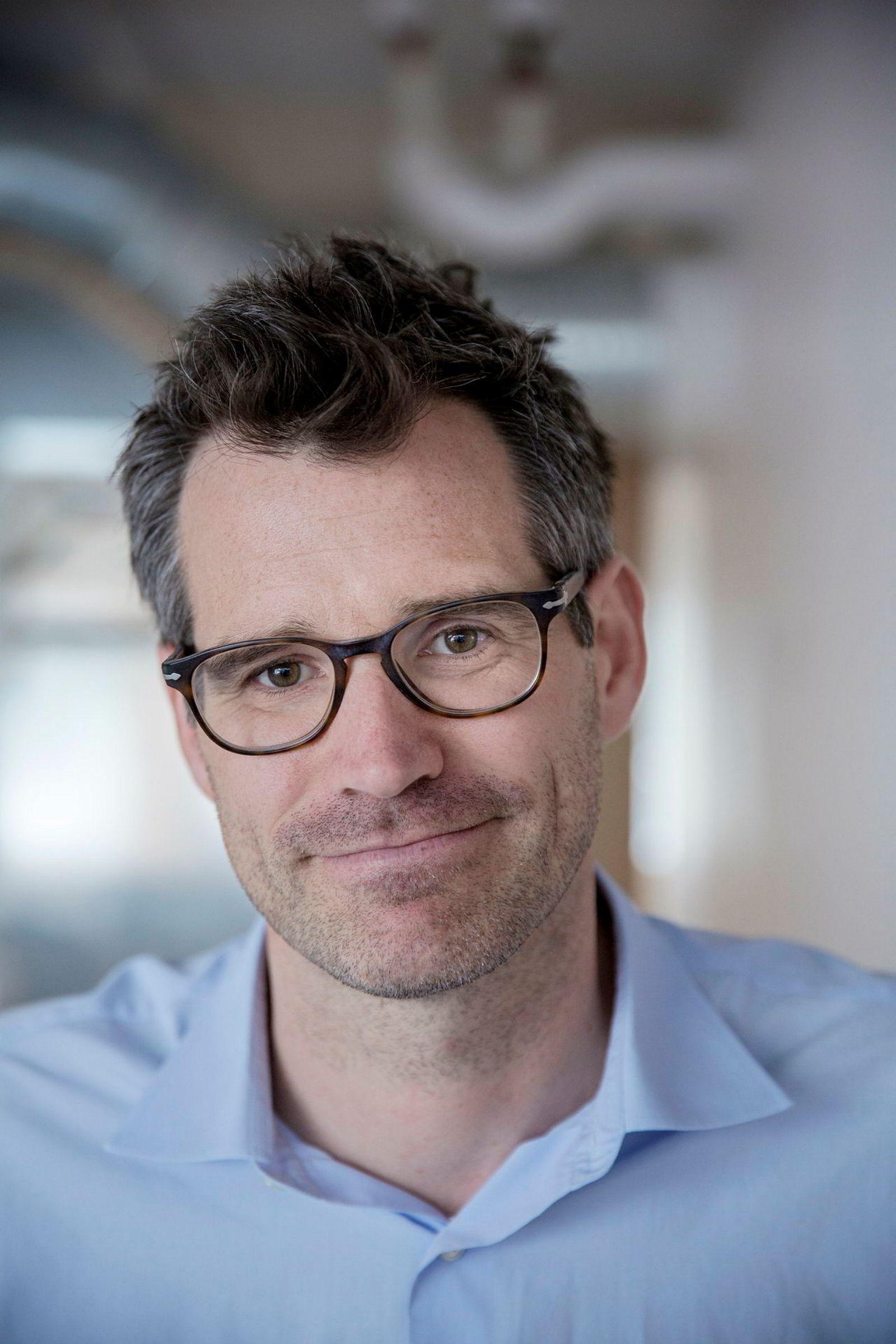 Daglig leder Alexander Woxen i Startuplab.