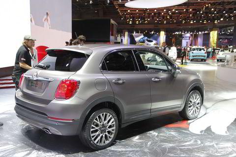 Fiat 500x.