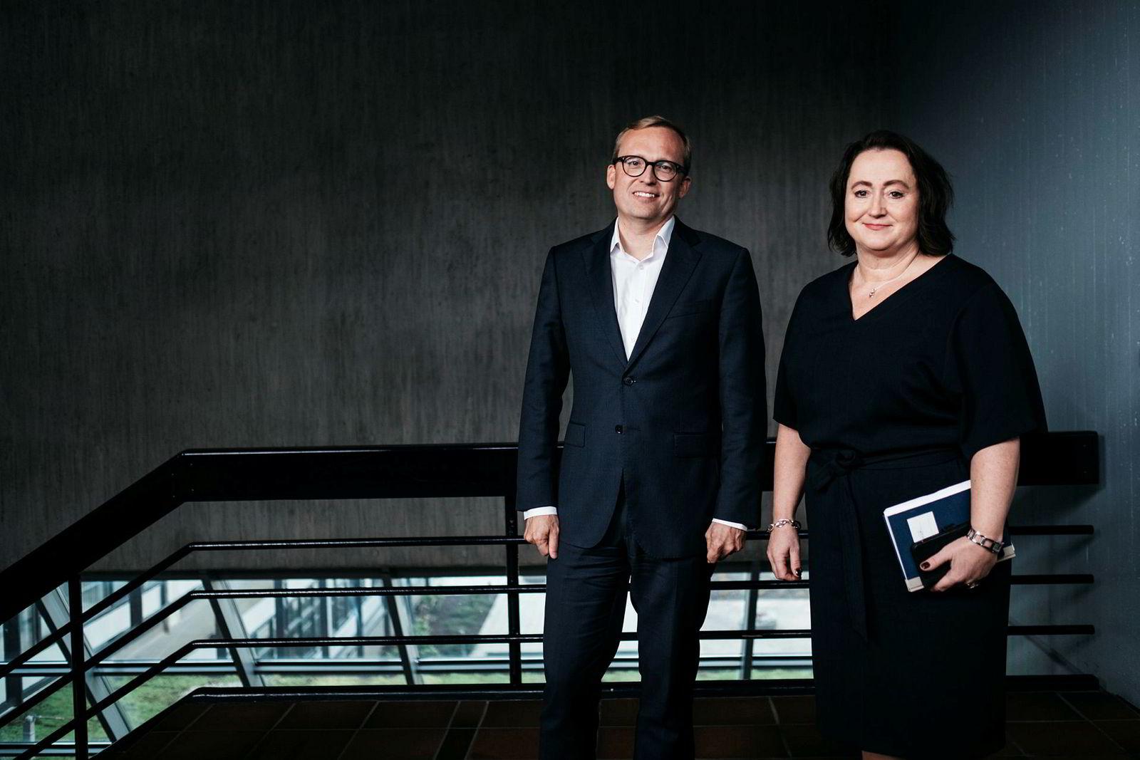 Direktør Ann-Elisabeth Serck-Hanssen og Kjetil Johnsen, leder for shipping i Equinor, snakket med DN om selskapets shippingstrategi kort tid før ulykken.
