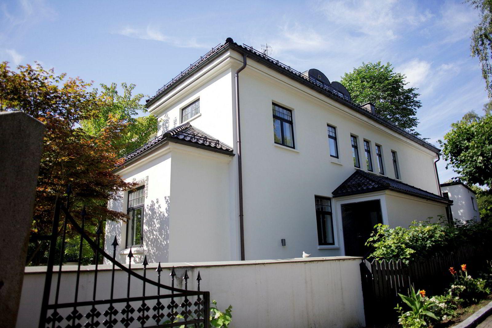 Denne boligen i Thomas Heftyes gate 12 ble i fjor kjøpt av Pia Øien Cohler.