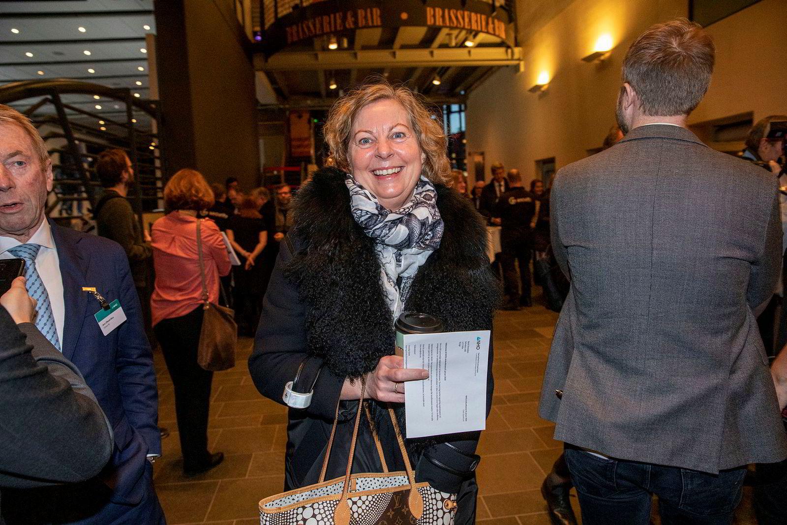 Berit Svendsen var tilstede i Oslo Spektrum onsdag morgen. Jens Ulltveit-Moe helt til venstre.
