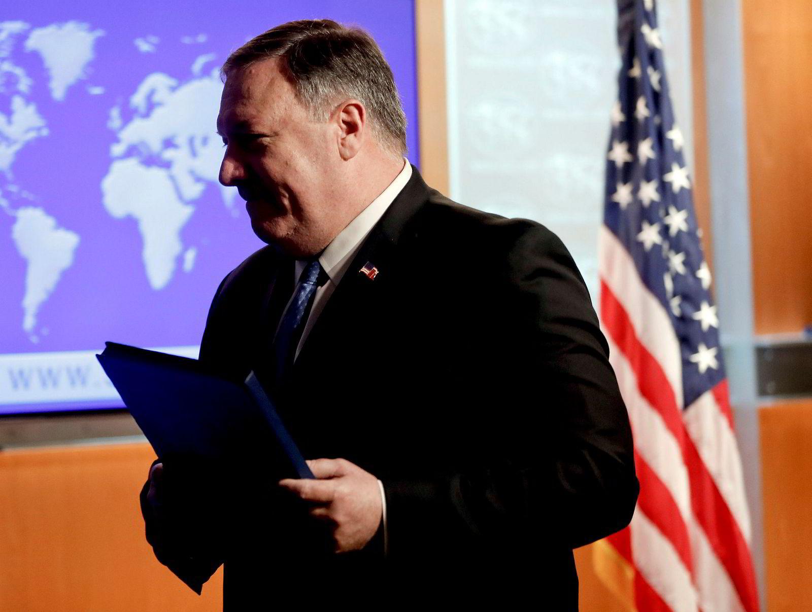 USAs utenriksminister Mike Pompeo har vært i Nord-Korea flere ganger.