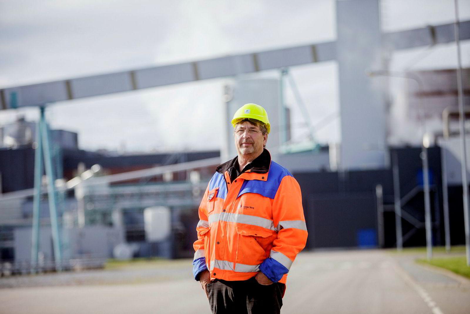 – Det er de med dårligst konkurransekraft som vil ryke først, sier hovedtillitsvalgt Paul Kristiansen ved Norske Skog Saugbrugs.