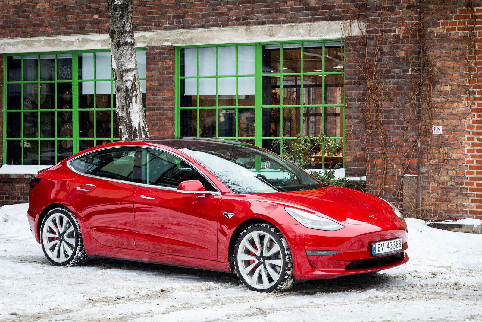 Denne bilen kommer til å bli et vanlig syn på norske veier.
