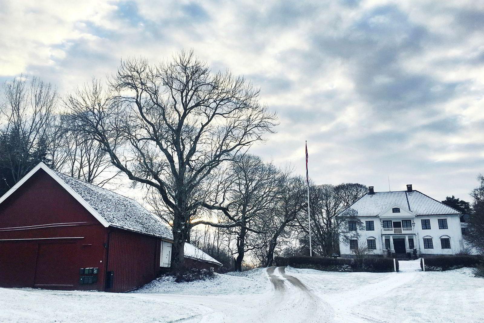 Harald Røer solgte den staselige Røer gård på Nesodden til sin sønn for tre millioner kroner i 2015.