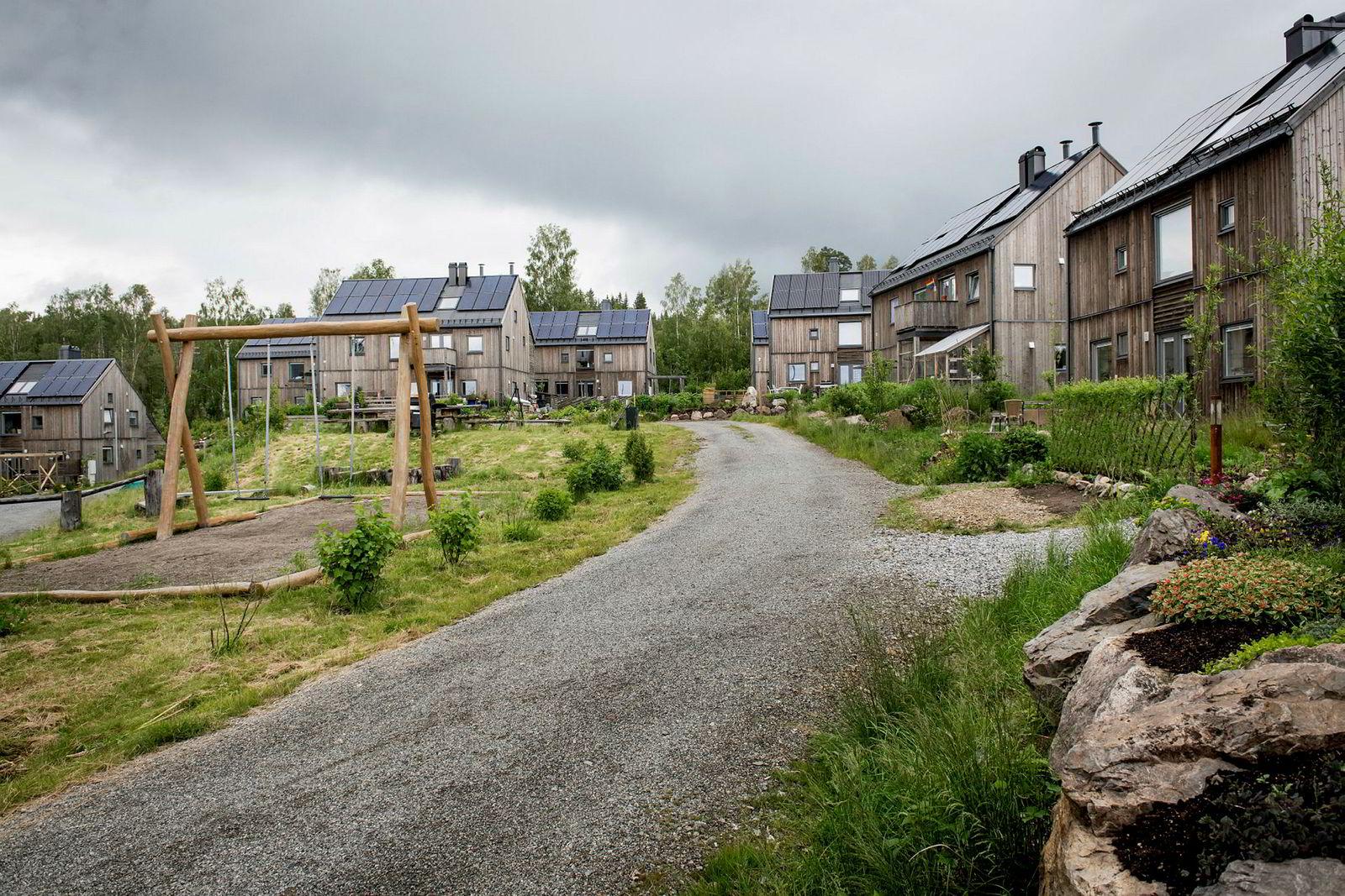 Da DN besøkte Hurdal økolandsby var innbyggerne splittet i synet på Filago.