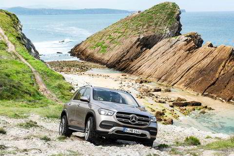 Mercedes har forhåpentlig beholdt bilens gode terrengegenskaper.