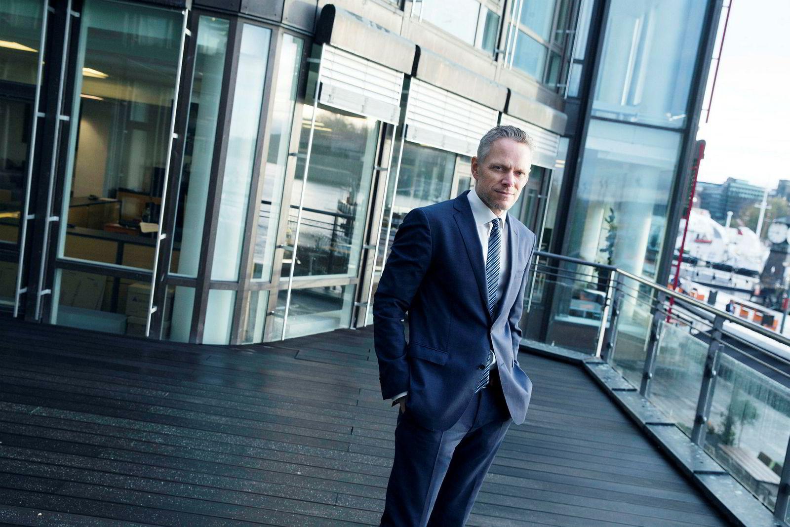 Christian Lie i Danske Bank.