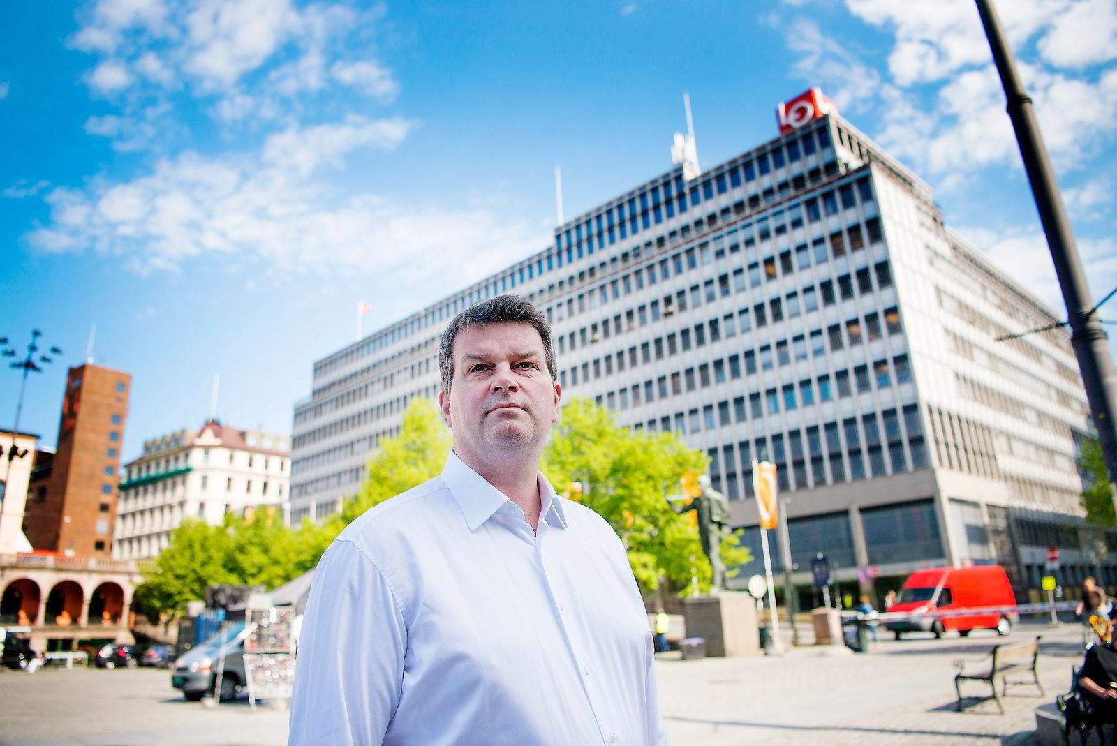 LO-nestleder Hans Christian Gabrielsen frykter regjeringen skaper et stort hull.