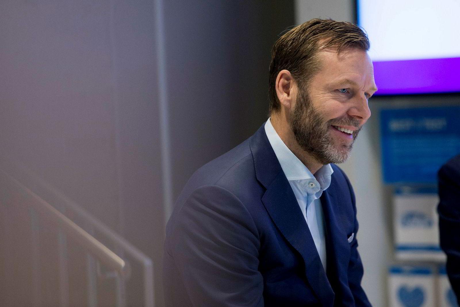 – En kunde skal kunne kjøpe flere tjenester av Telia, med samme varemerkeopplevelse og enkel leveranse, sier Telias konsernsjef Johan Dennelind.