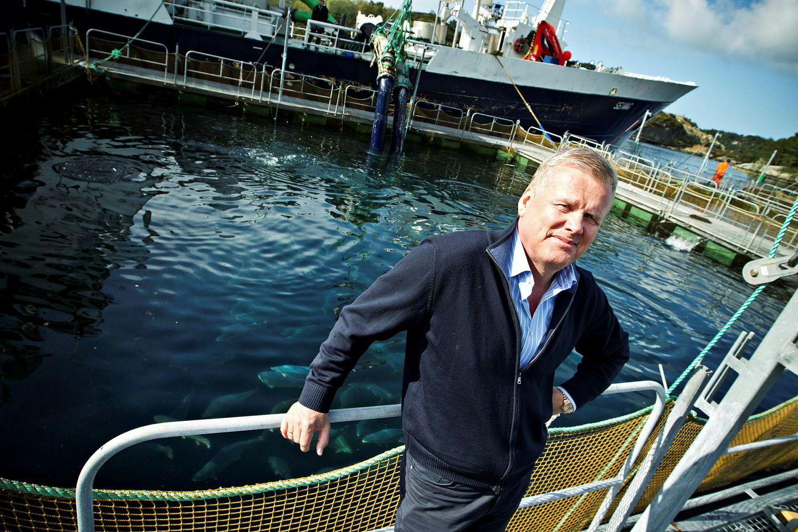 Helge Møgster har over én milliard kroner i formue.