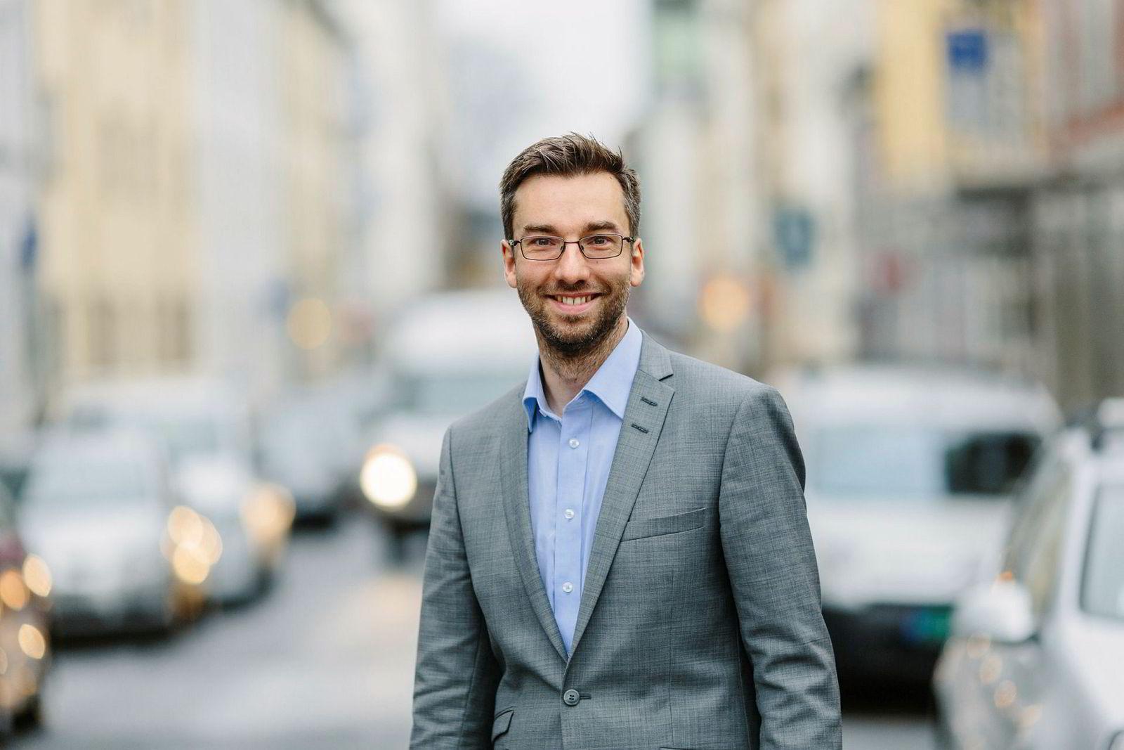 Alexander Haneng, direktør for Digital Innovasjon i Posten og Bring