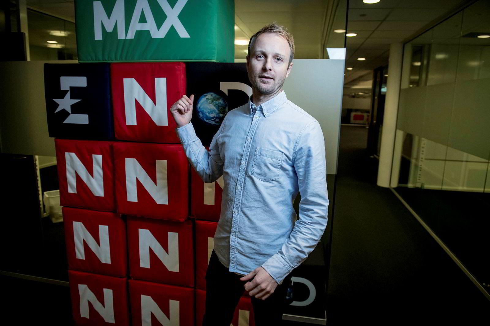 Kommunikasjonsdirektør Espen Skoland i Discovery Networks.