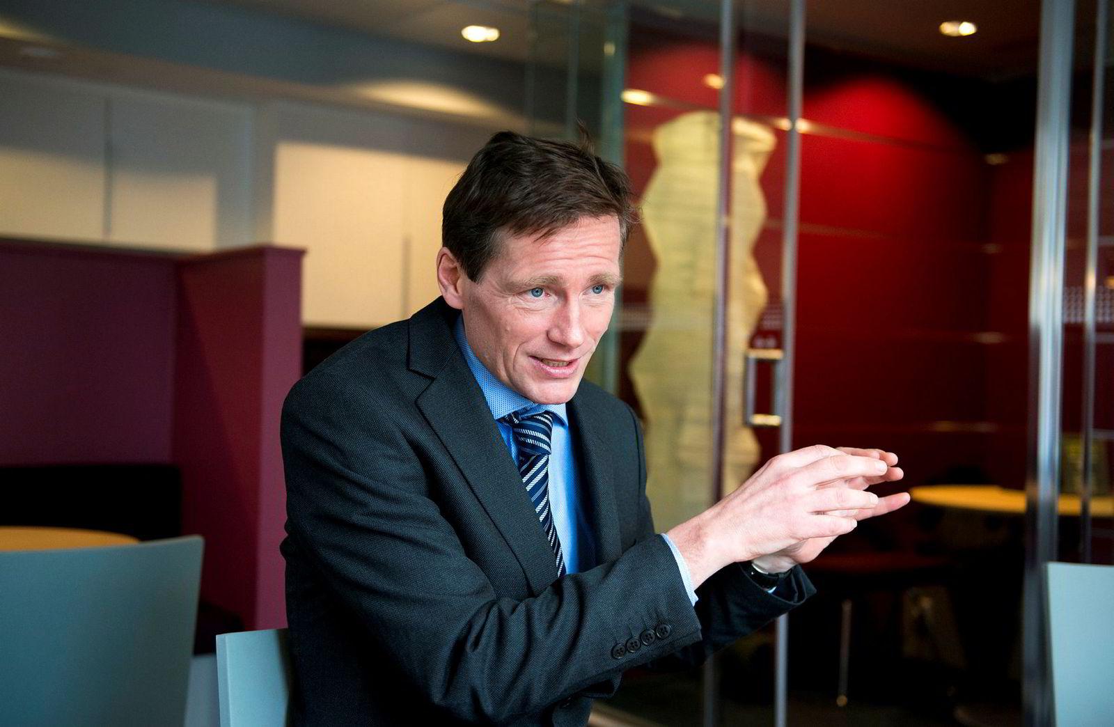 Investeringsdirektør Robert Næss, Nordea Investment Management.