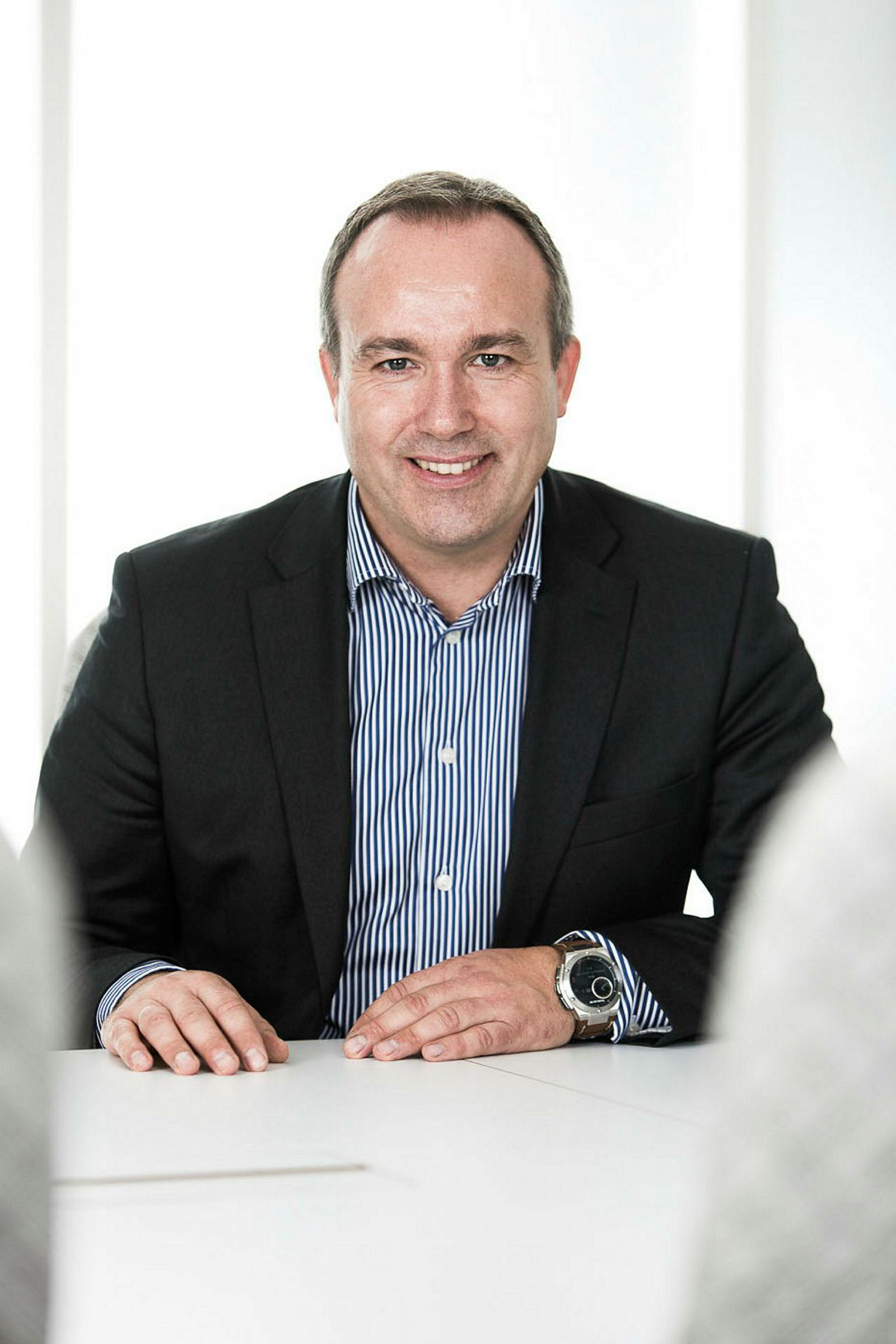 Verner Hølleland, administrerende direktør i HP Norge.