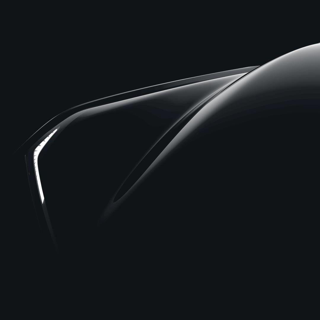 Dette er det nyeste bildet som indikerer skjerm og lykt på den nye bilen fra Faraday.