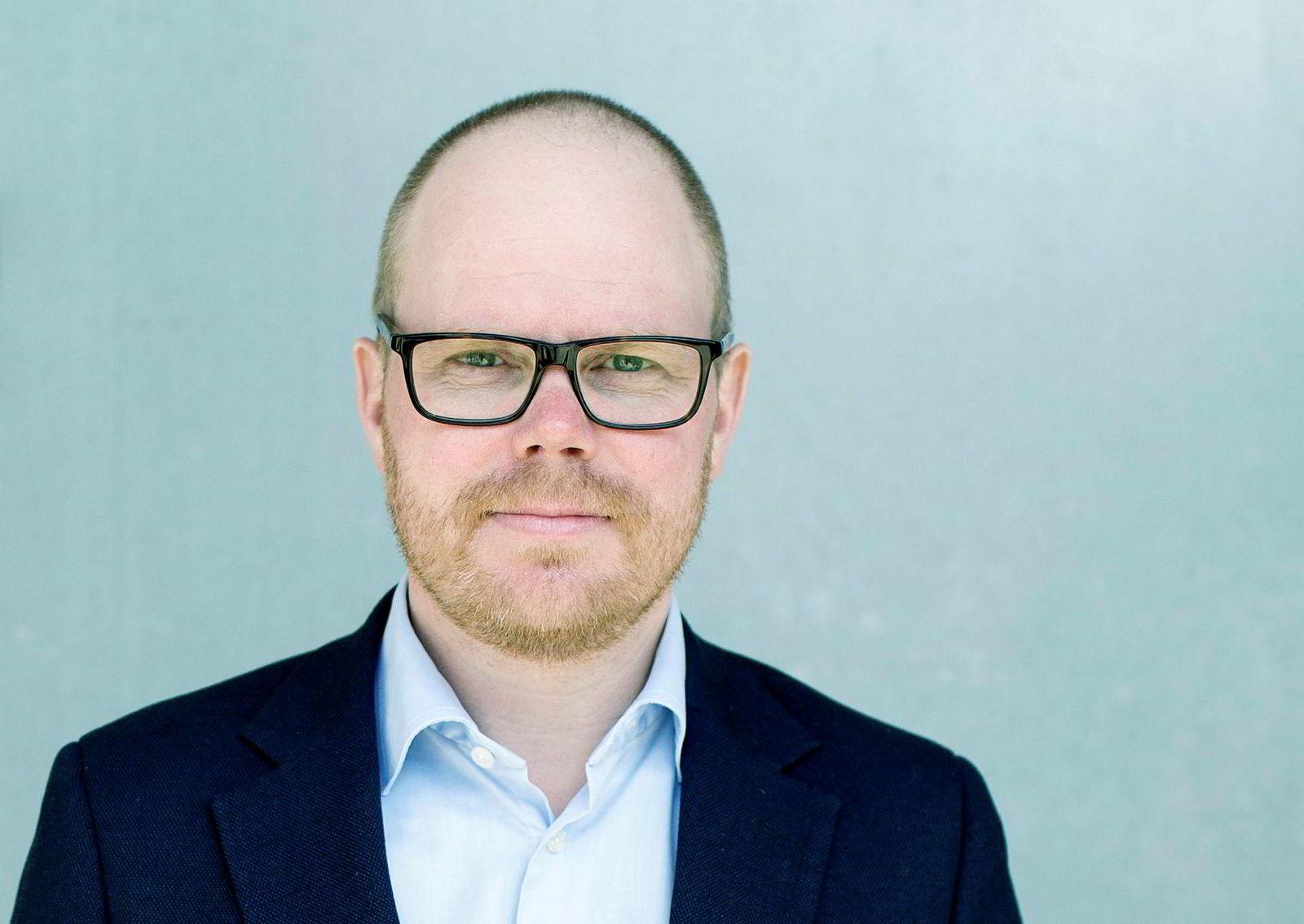 Sjefredaktør Gard Steiro i VG.