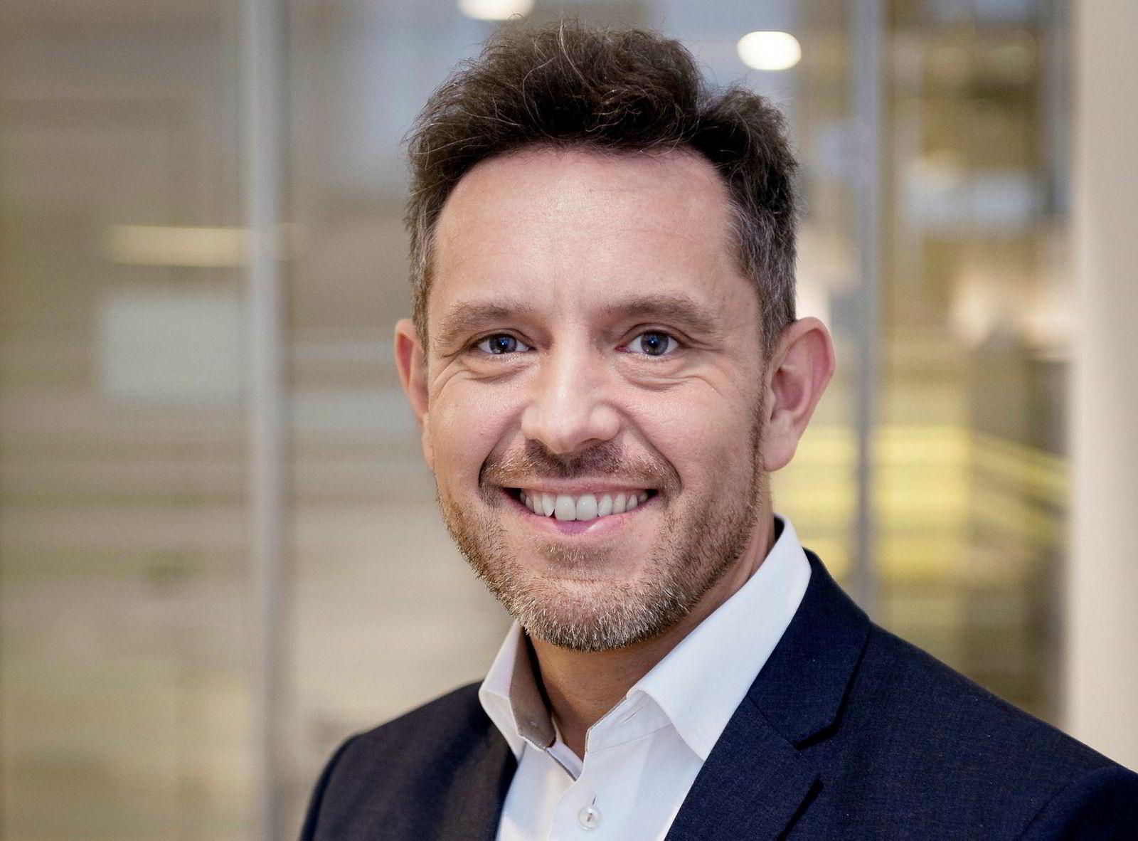 Bjørn-Inge Haugan, kommunikasjonssjef i Sparebank 1 Østlandet