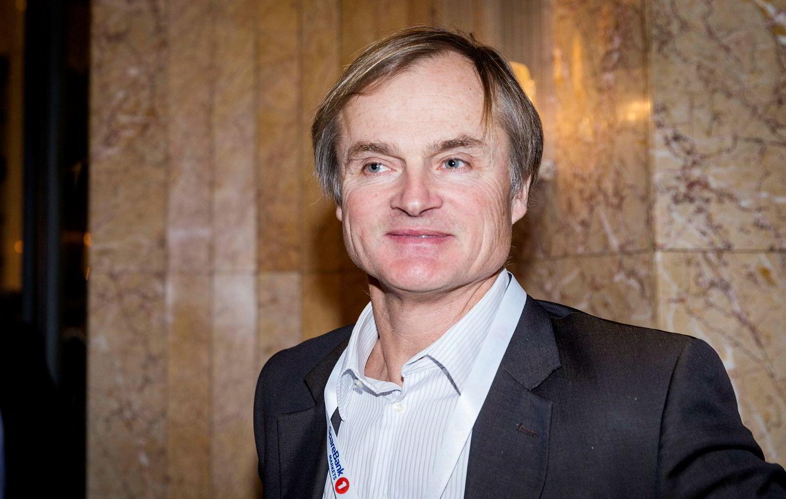 Investor Øystein Stray Spetalen er største aksjonær i Vistin Pharma.