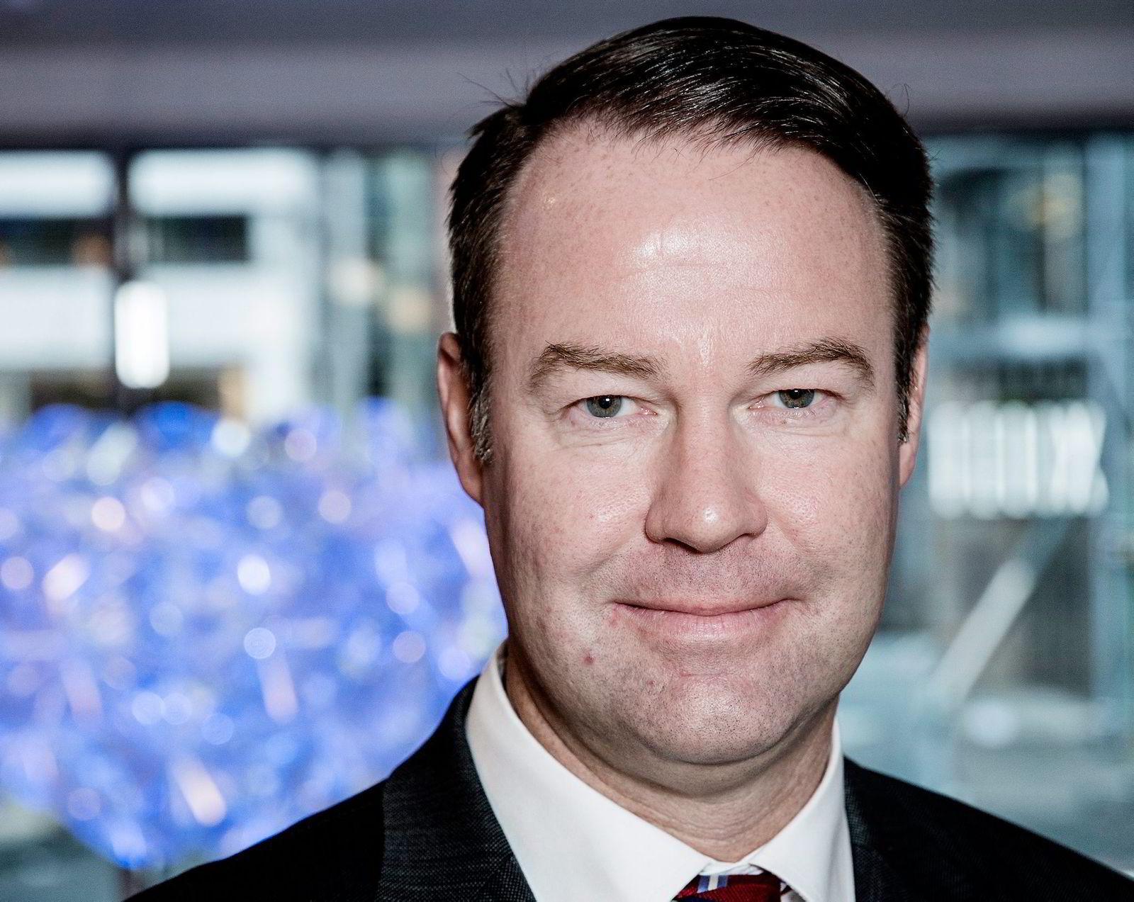 Norge-sjef Trond F. Mellingsæter i Danske Bank kan glede seg over rekordvekst.