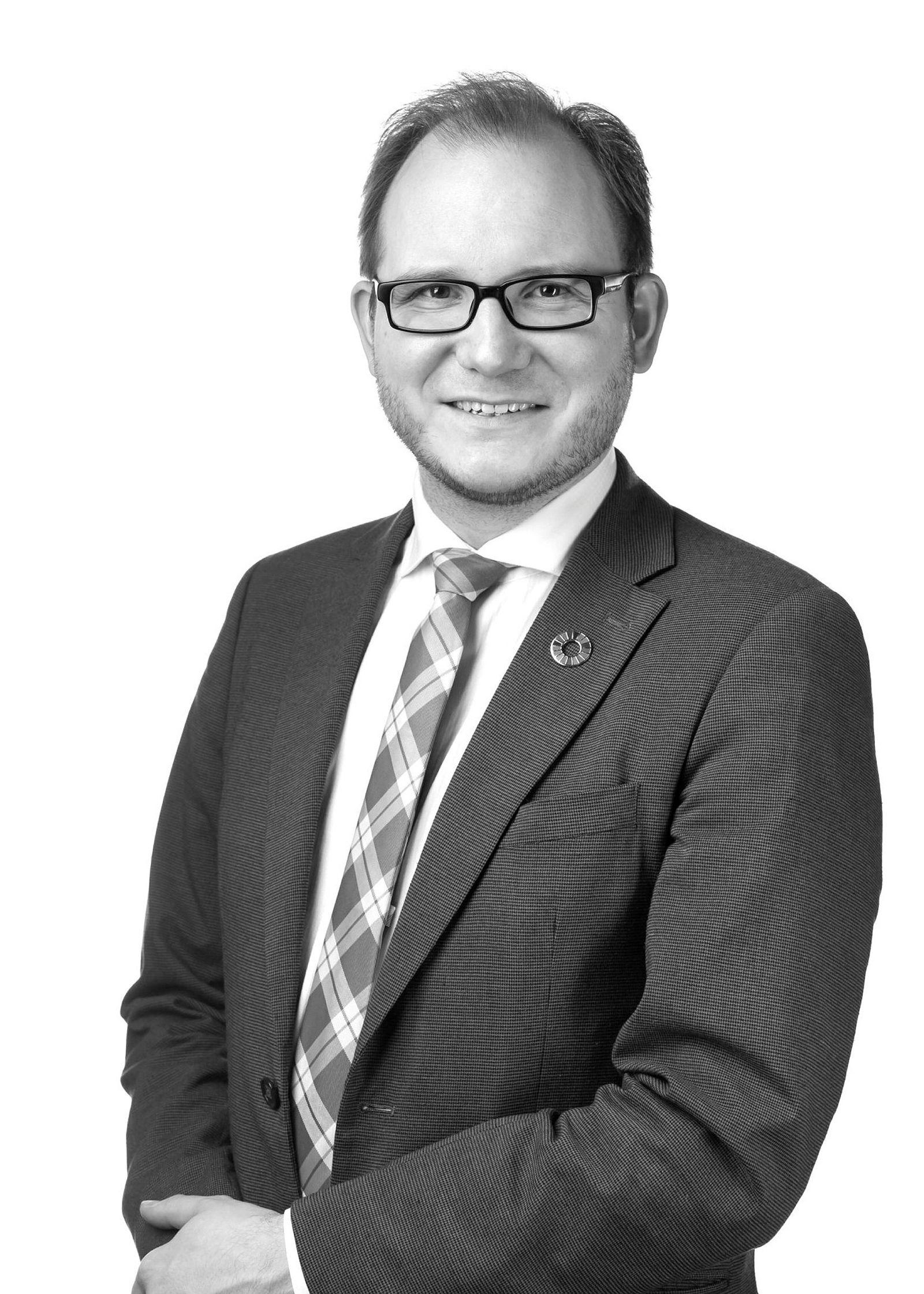 Daniel Bjarmann Simonsen (H), statssekretær